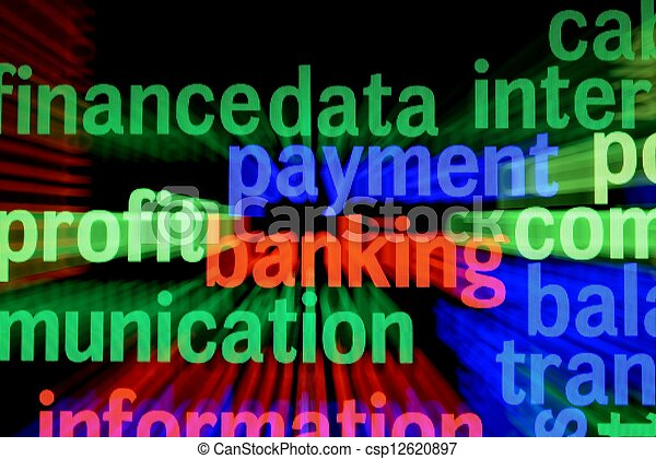 Finance payment banking - csp12620897