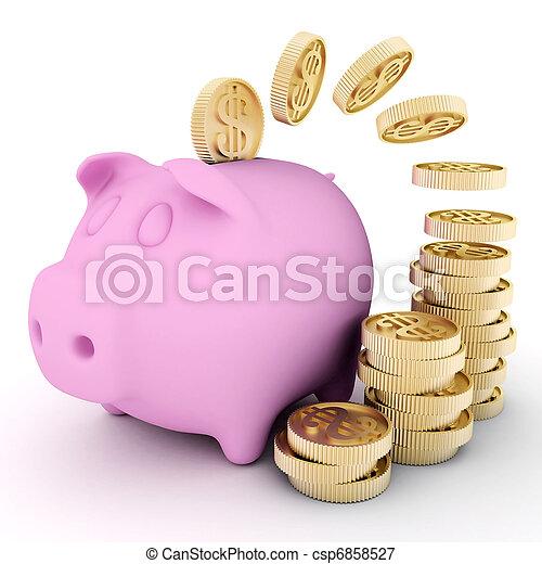Finance - csp6858527
