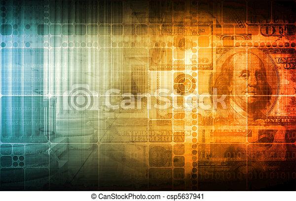 financeiro, edições - csp5637941