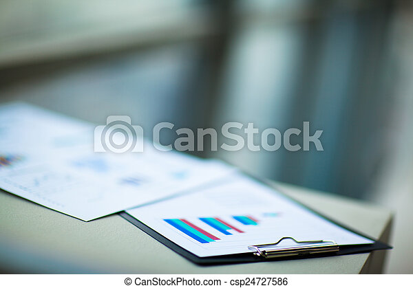 financeiro, gráficos - csp24727586