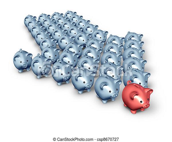 Financial Advice - csp8670727