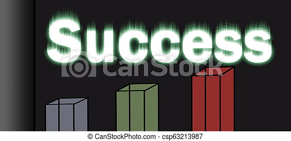 financial Chart and Reports on finances for the month. business concept - csp63213987