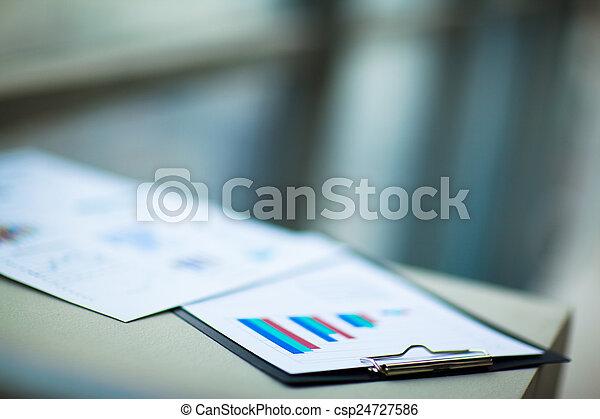 financial charts - csp24727586