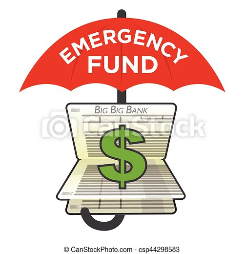 financial emergency fund savings account to protect from vector rh canstockphoto com Protect the Earth Helmet Clip Art