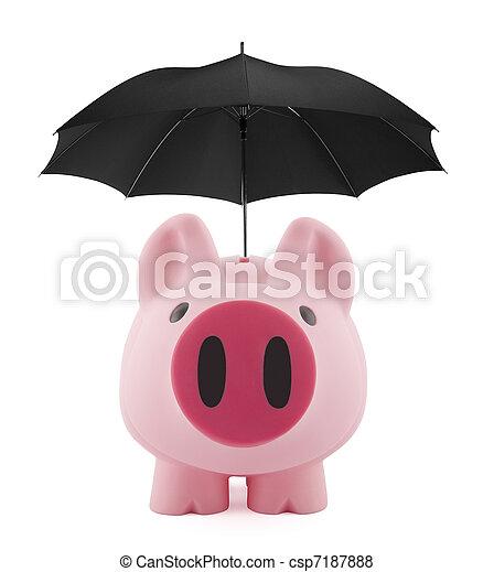 Financial insurance - csp7187888