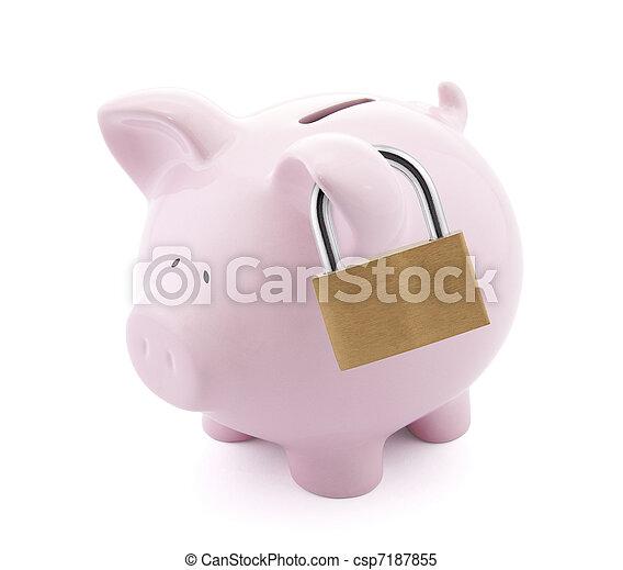 Financial insurance - csp7187855