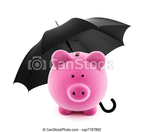 Financial insurance - csp7187862