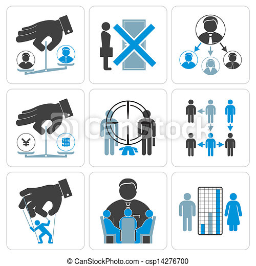 Financial, Management and Business Vector Icons - csp14276700