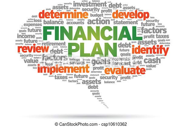 Financial Plan - csp10610362