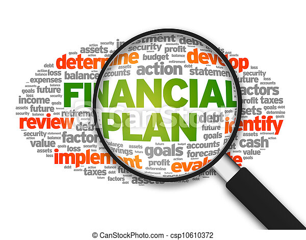 Financial Plan - csp10610372
