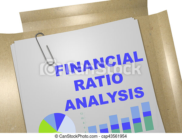 Financial Ratio Analysis  Business Concept D Illustration