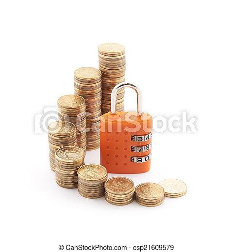 Financial security. - csp21609579