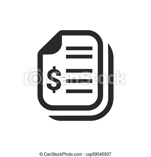 Financial Statement Icon - csp59545937