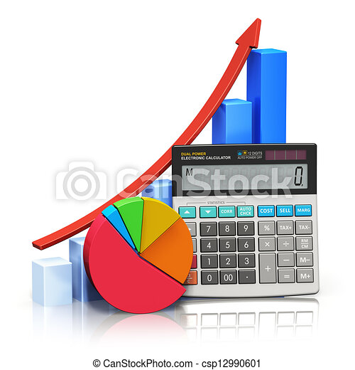 Financial success and accounting concept - csp12990601