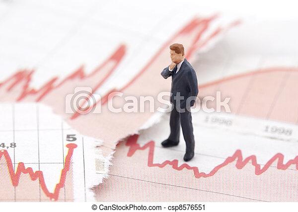 financieel, crisis - csp8576551
