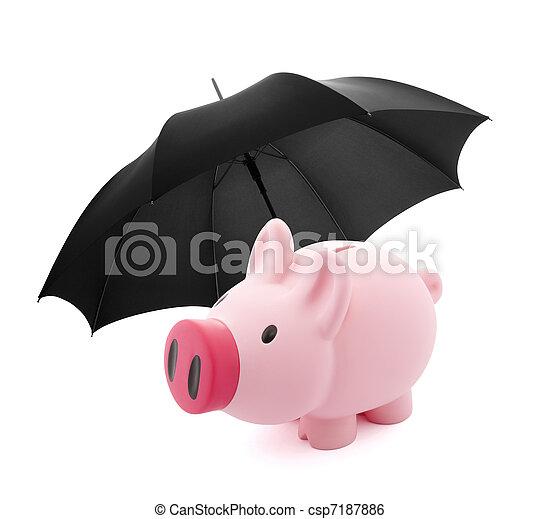 financier, assurance - csp7187886