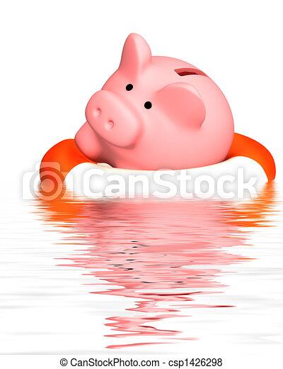 financier, crise, aide - csp1426298
