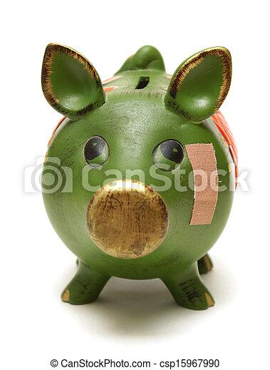 Dolor financiero - csp15967990