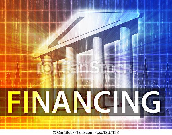 Financing illustration - csp1267132