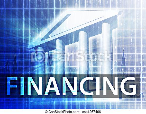 Financing illustration - csp1267466