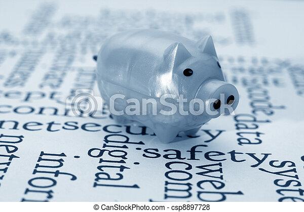 finansowy, bezpieczeństwo - csp8897728