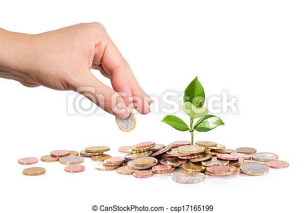 Das neue Finanzgeschäft - Start-up - csp17165199