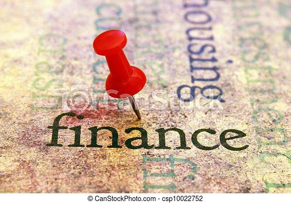 Finanzas - csp10022752