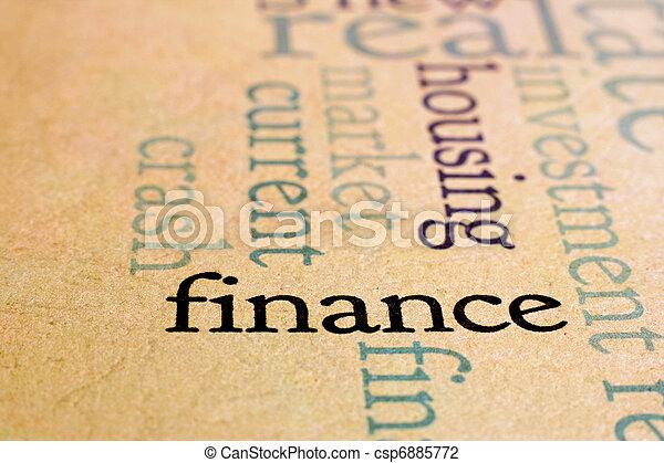 Finanzas - csp6885772