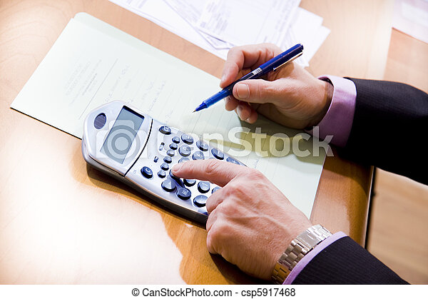 Finanzas - csp5917468
