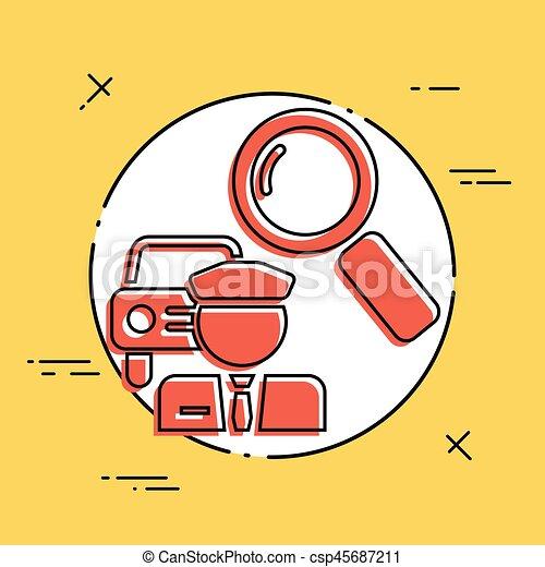Find car driver service - csp45687211