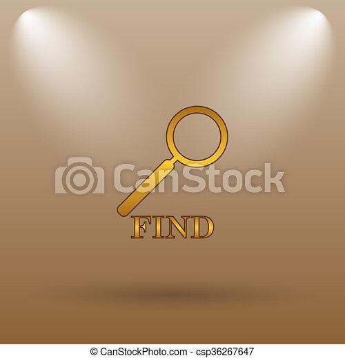 Find icon - csp36267647