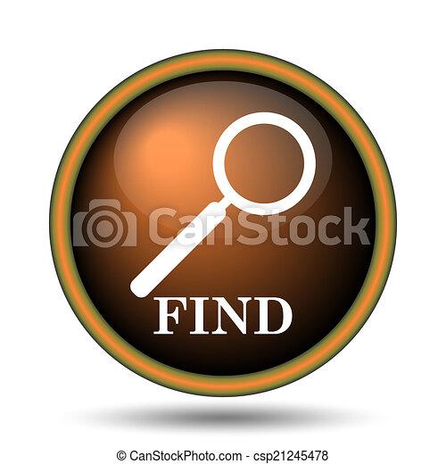 Find icon - csp21245478