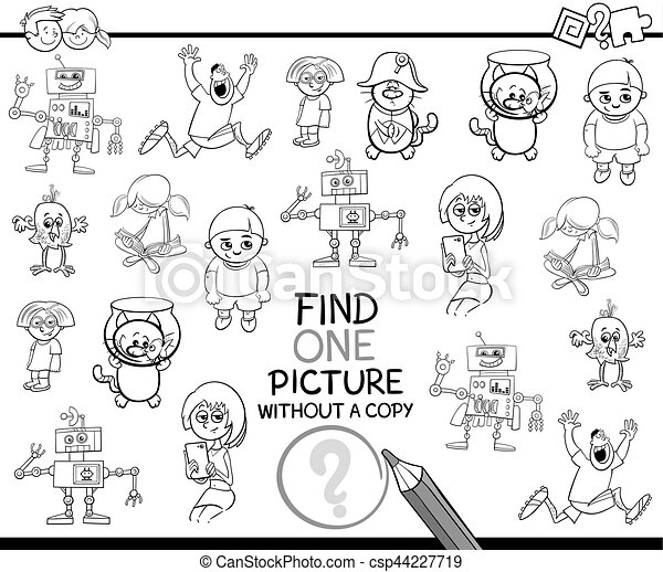 find single item coloring page - csp44227719