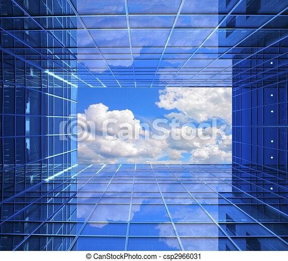 finestra, futuro - csp2966031