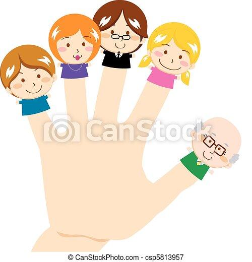 Finger Family - csp5813957