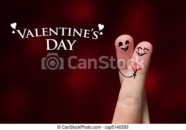 Line Art Valentine : Finger hug on valentine's day theme drawings search clipart