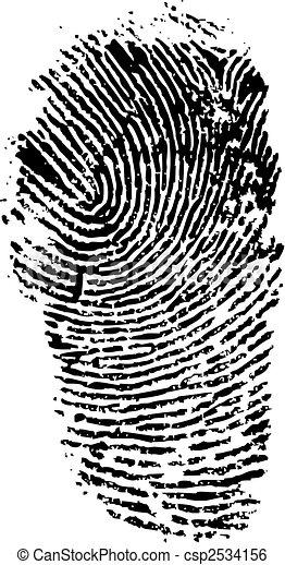finger print - csp2534156