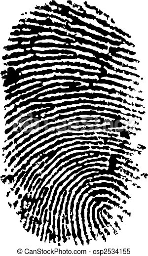 finger print - csp2534155