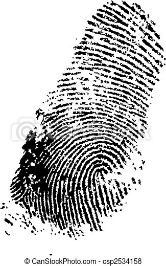 finger print - csp2534158