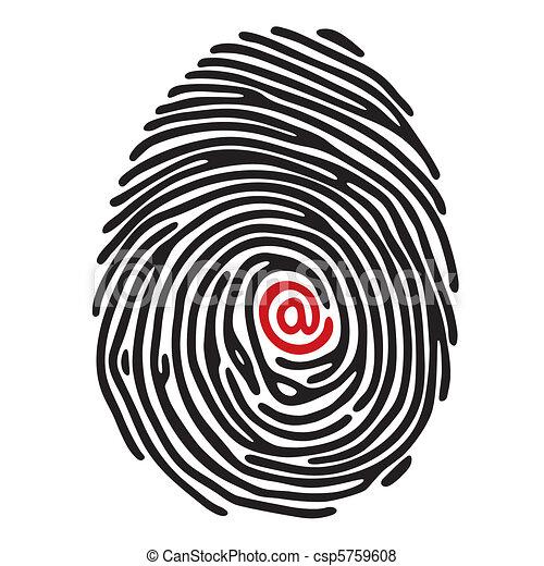 finger print - csp5759608