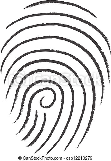 finger print  - csp12210279