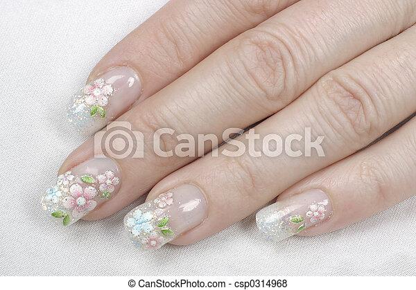 fingernails - csp0314968
