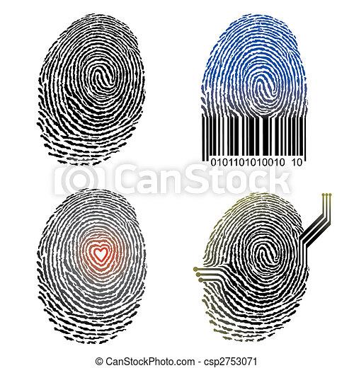 Fingerprint Design - csp2753071
