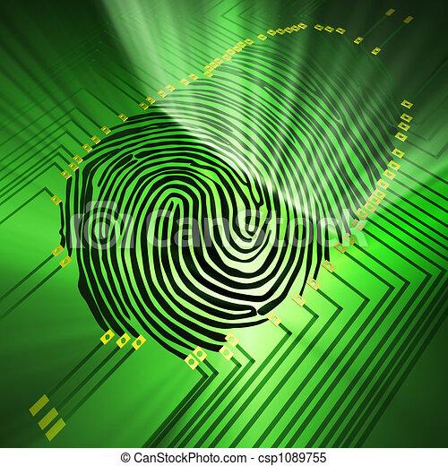 fingerprinting - csp1089755