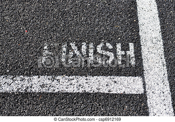 Finish Line The Painted Black Top