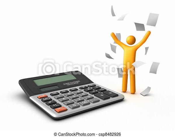 Lavoro Ufficio Clipart : Finitura lavoro ufficio finitura paperwork illustrazione d