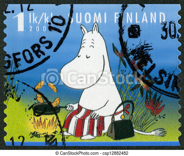 FINLAND - 2007: shows Moominmamma, Moomin characters - csp12882482