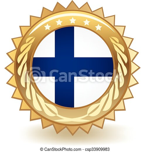 Finland Badge - csp33909983