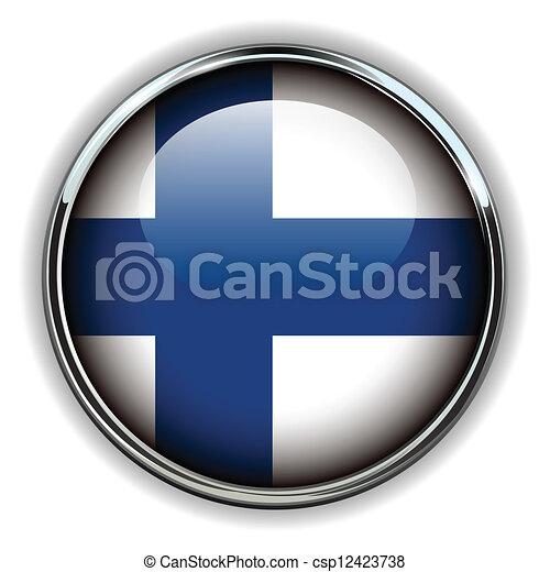 Finland button - csp12423738