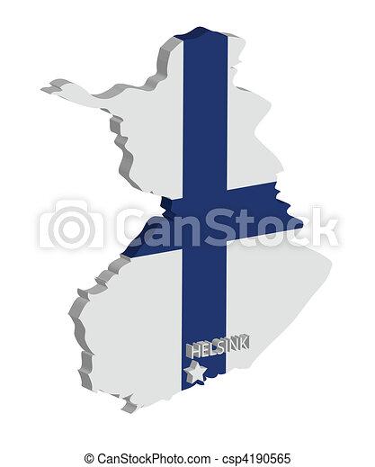 finland - csp4190565